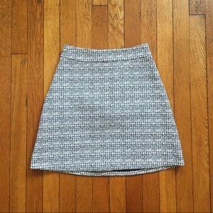 Express A-line mini skirt